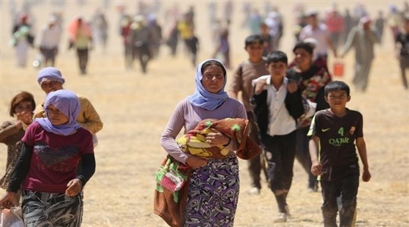 نازحون عراقيون (أرشيف)