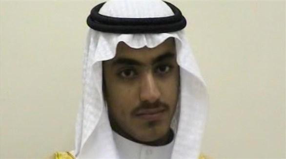 حمزة نجل زعيم تنظيم القاعدة أسامة بن لادن (أرشيف)