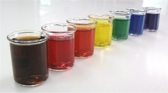 ألوان طعام سائلة (أرشيف)