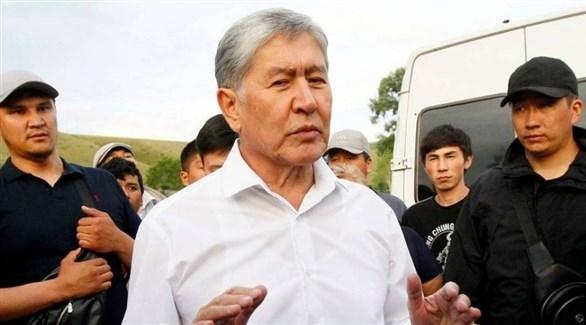 الرئيس السابق ألمازبيك أتامباييف (أرشيف)