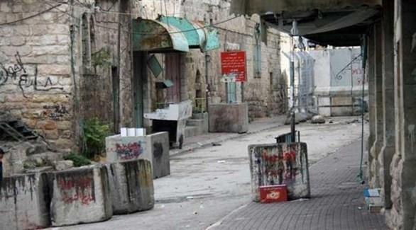 فتح شارع تل الرميدة بالخليل (أرشيف)
