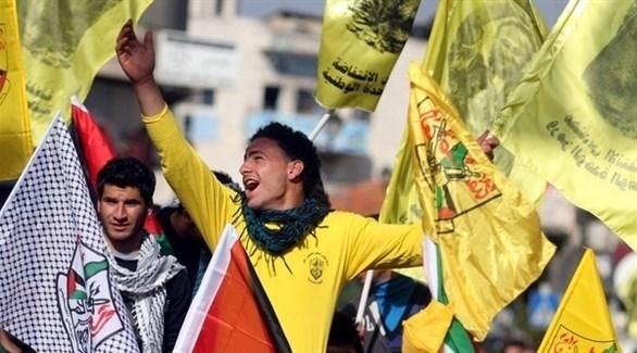 مناصرون لحركة فتح الفلسطينية (أرشيف)