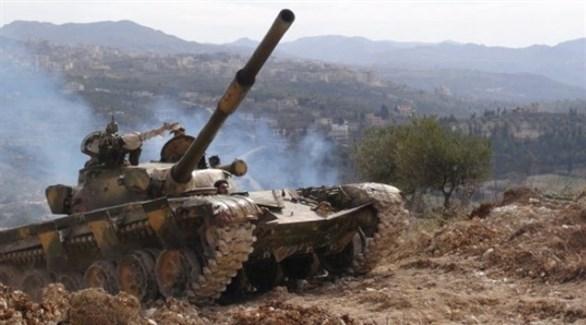 مدرعة تابعة للجيش السوري (أرشيف)