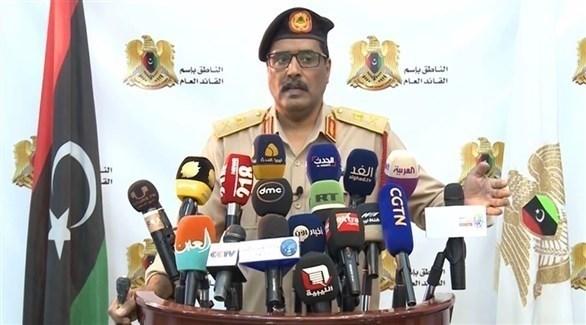 اللواء أحمد المسماري (أرشيف)