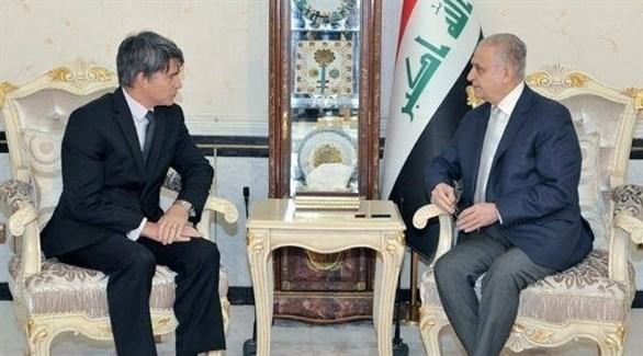 وزير الخارجية العراقي و القائم بالأعمال في السفارة الأمريكية (أرشيف)