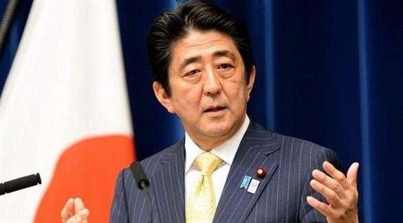 رئيس الوزراء الياباني شينزو آبي (أرشيف)