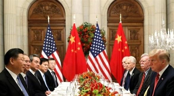 جانب من المحادثات الأمريكية الصينية (أرشيف)