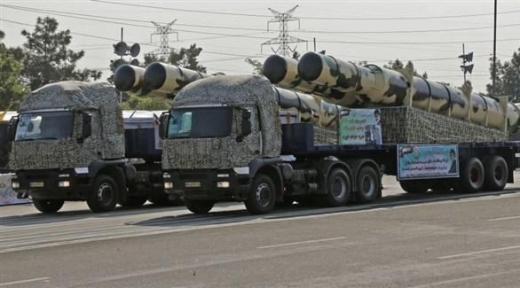 صواريخ وأسلحة إيرانية (من المصدر)