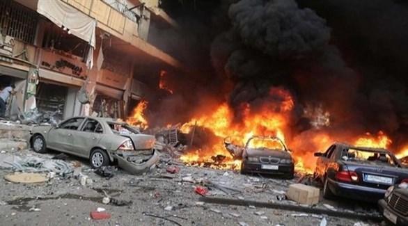 انفجار سيارة مفخخة في إدلب (أرشيف)