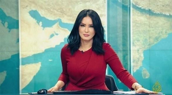 مذيعة قناة الجزيرة القطرية المستقيلة حسينة أوشان (أرشيف)