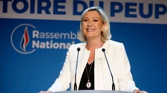 زعيمة حزب التجمع الوطني اليميني المتطرف في فرنسا مارين لوبان (أرشيف)
