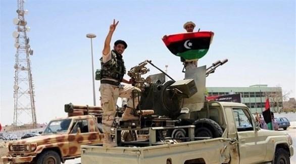 جنود من الجيش الليبي (أرشيف)