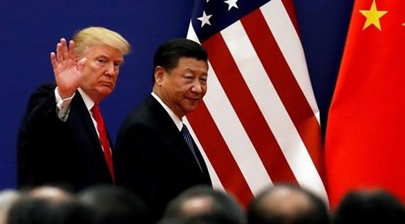 الرئيس الأمريكي دونالد ترامب والرئيس الصيني شي جينبينغ