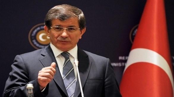 رئيس وزراء تركيا الأسبق أحمد داوود أوغلو (أرشيف)