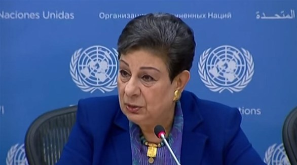 عضو اللجنة التنفيذية للمنظمة التحرير الفلسطينية حنان عشراوي (أرشيف)