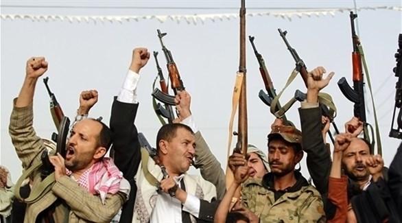 مسلحون من ميليشيا الإصلاح الإخواني في اليمن (أرشيف)