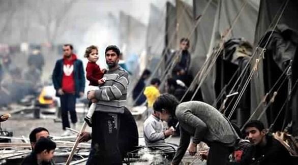 لاجئون سوريون في مخيم تركي (أرشيف)