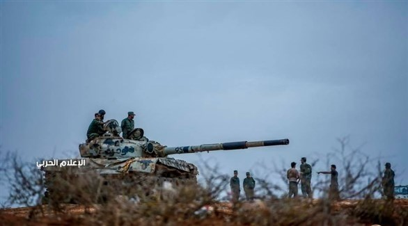قوات الجيش الوطني الليبي في مدينة غريان (الإعلام الحربي)