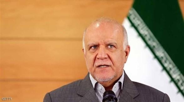 وزير النفط الإيراني بيجن زنغنه (أرشيف)