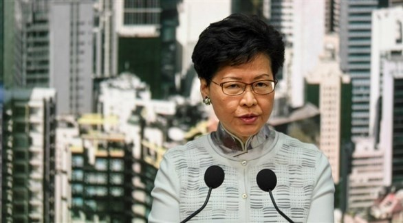 كاري لام زعيمة هونغ كونغ (أرشيف)