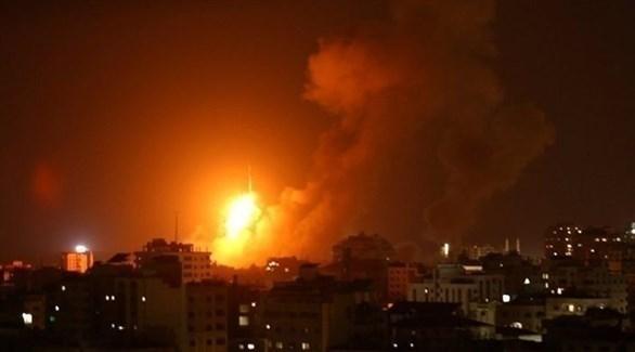 انفجار سابق في قطاع غزة (أرشيف)
