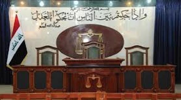 قاعة في محكمة عراقية (أرشيف)
