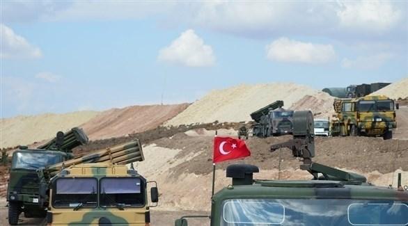 آليات عسكرية تركية (أرشيف)