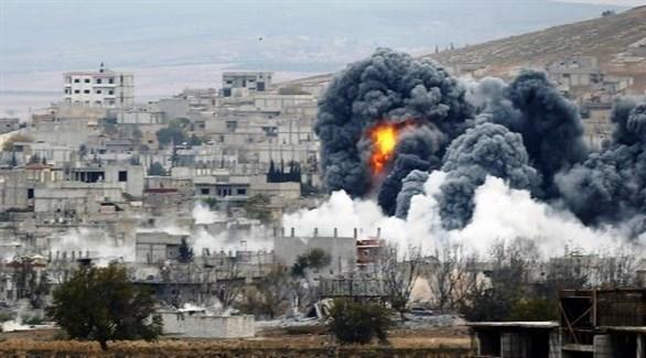 قصف على ريف إدلب (أرشيف)