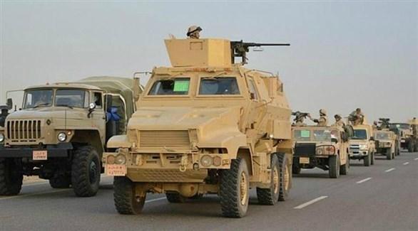 قافلة للجيش المصري (أرشيف)