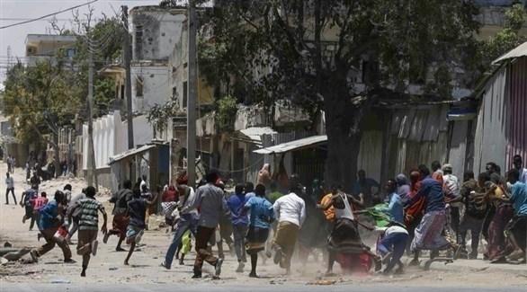 احتجاج عنيف سابق في الصومال (أرشيف)