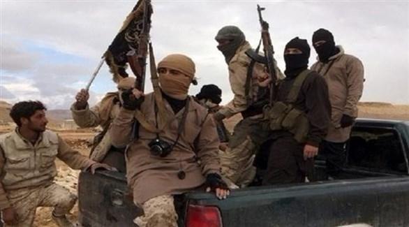 مقاتلون في صفوف داعش الإرهابي (أرشيف)