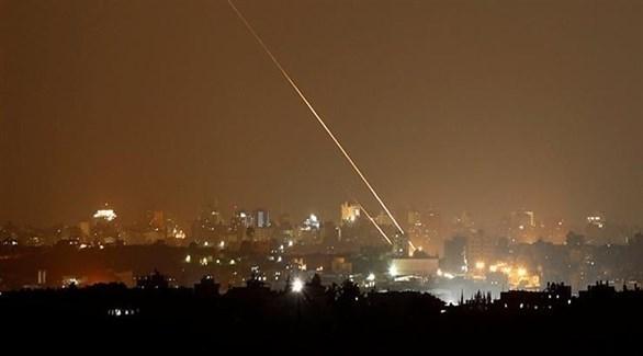 صاروخ في سماء قطاع غزة (أرشيف)