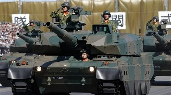 معدات عسكرية يابانية (أرشيف)