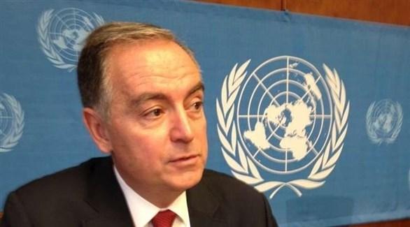 المسؤول الأممي للشؤون الإنسانية في سوريا بانوس مومتزيس (أرشيف)