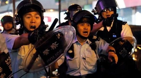 عناصر من شرطة هونغ كونغ (أرشيف)