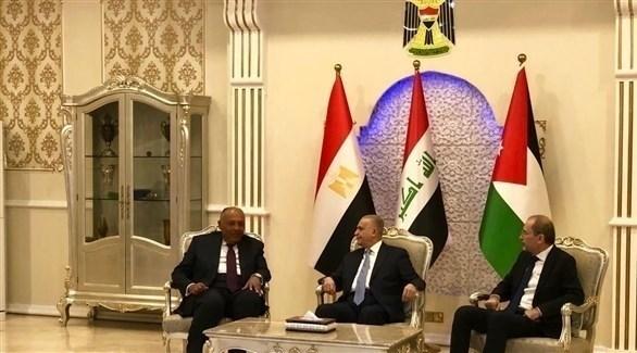 خلال اللقاء (الخارجية المصرية)