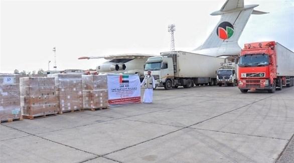 مساعدات إماراتية لليمن (من المصدر)