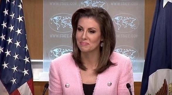 المتحدثة باسم الخارجية الأمريكية مورجان أورتاغوس (أرشيف)