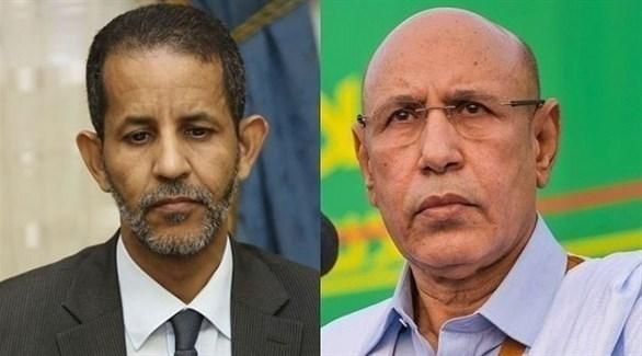 الرئيس الموريتاني محمد الغزواني ورئيس الوزراء إسماعيل سيديا (أرشيف)
