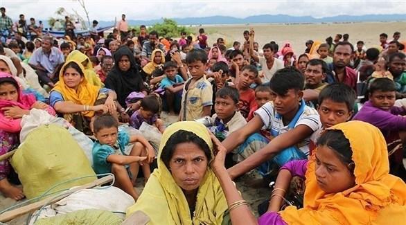لاجئون من ميانمار في بنغلاديش (أرشيف)