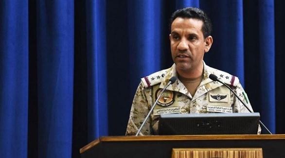 المتحدث باسم التحالف العربي العقيد طيار الركن تركي بن صالح المالكي (أرشيف)