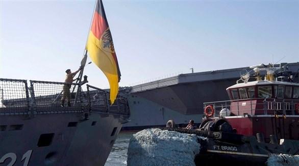 سفن حربية ألمانية (أرشيف)