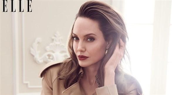 أنجلينا جولي من مجلة ELLE