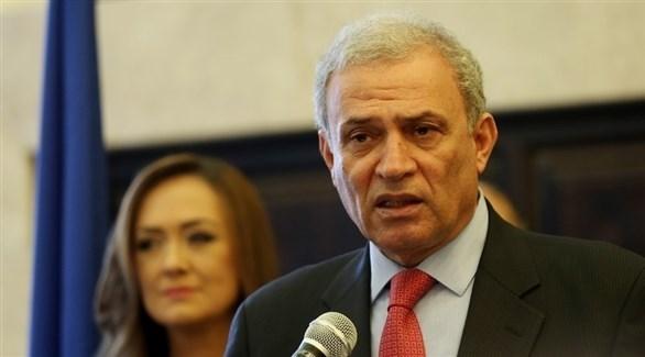عضو اللجنة التنفيذية لمنظمة التحرير نائب رئيس الوزراء زياد أبو عمرو (أرشيف)