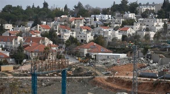 مستوطنات إسرائيلية في الضفة الغربية(أ ف ب)