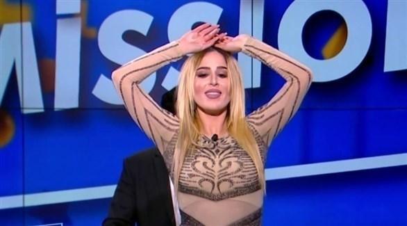 الراقصة التونسية نرمين صفر (أرشيف)