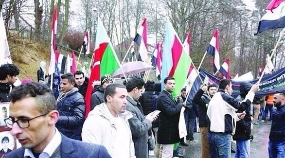 متظاهرون ينددون بقمع الأحوازيين في إيران (أرشيفية)