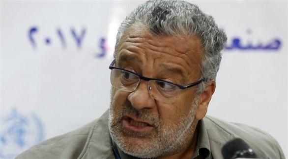 وزير الإدارة المحلية اليمني رئيس اللجنة العليا للإغاثة عبدالرقيب فتح (أرشيف)