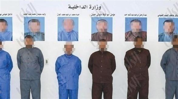 أعضاء الخلية الإخوانية المصرية المقبوض عليها في الكويت (راي)