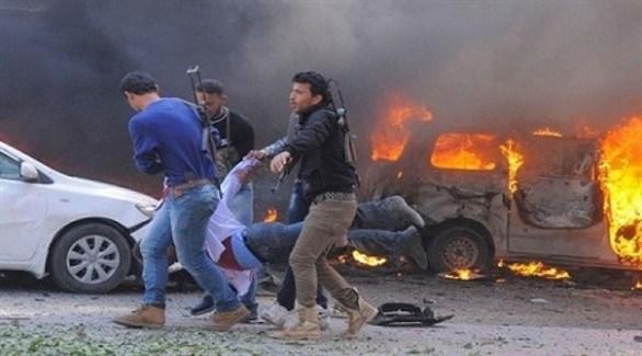 انفجار سيارة مفخخة في سوريا (أرشيف)